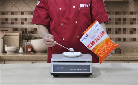 小米面发糕发酵泡打粉的用法简介,称量泡打粉