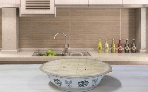 杂粮发糕发酵泡打粉的用法简介,杂粮发糕和好的面糊