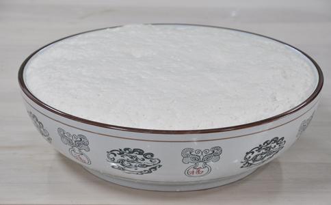 荷叶饼发酵泡打粉的用法简介,荷叶饼发酵好的面团